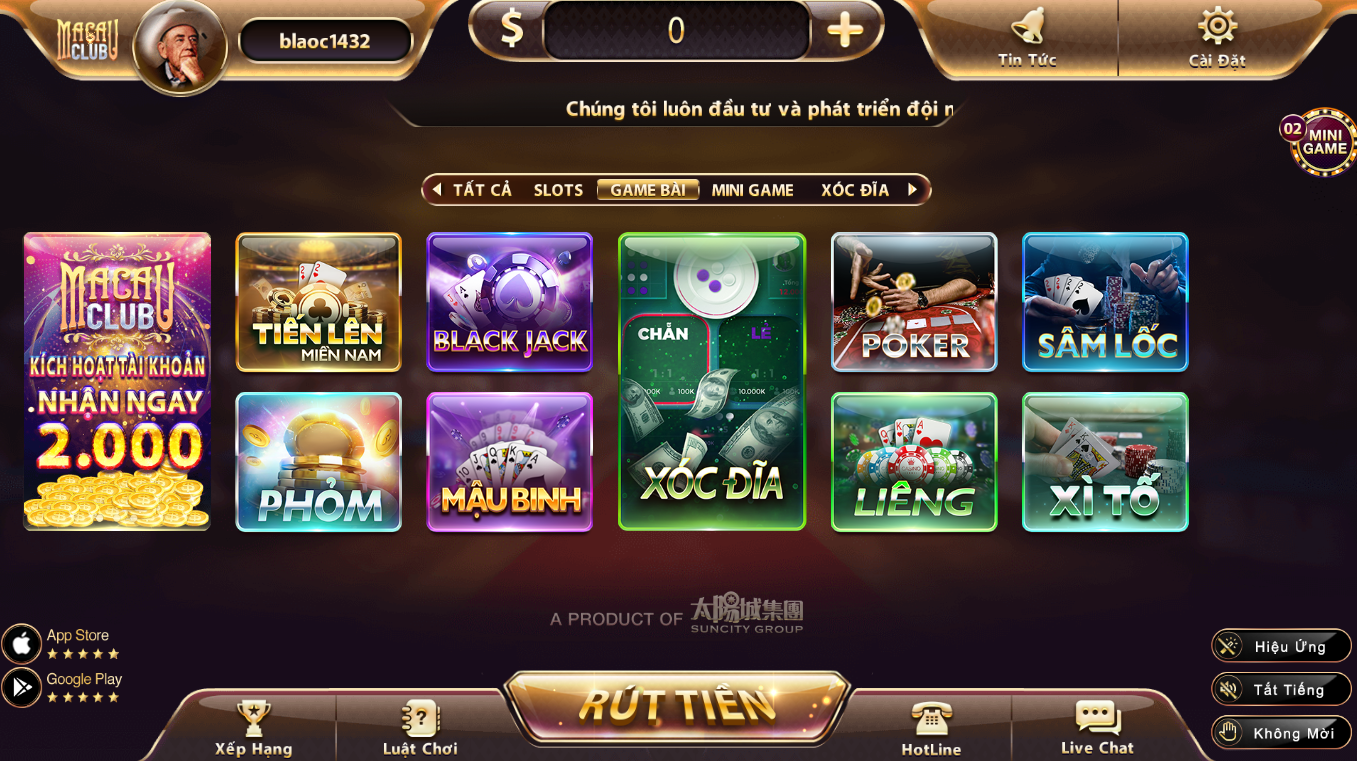 Game bài Macau Club