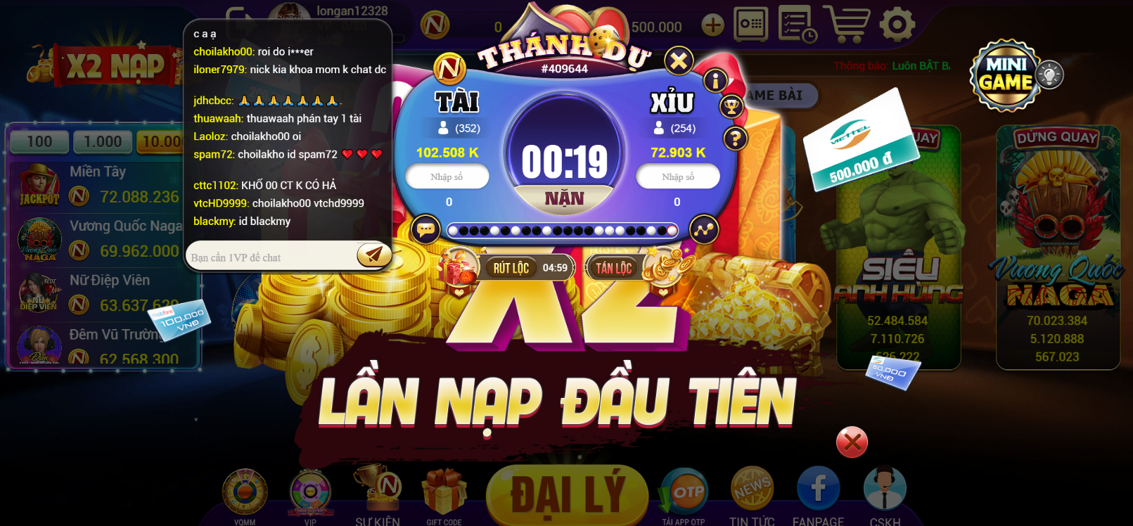 game bài Nagavip Club